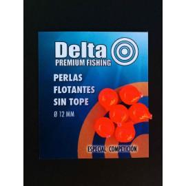 Perlas Flotantes Delta Fishing ROJAS