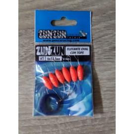 Perlas Flotantes Zun Zun - PURPURINA - ROJA Talla 1