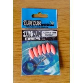 Perlas Flotantes Zun Zun - Ovalada - ROSA T/1