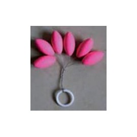 Stoppers Flotantes Rosa Ovalados L
