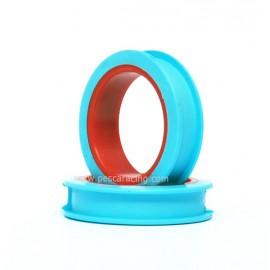 Plegadora Circular Azul