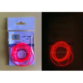 Tubo Silicona Rojo Brillante - LUMINISCENTE