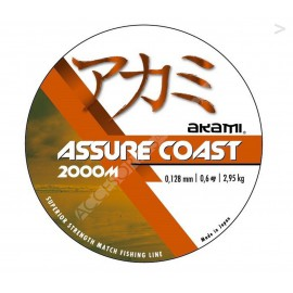 NYLON AKAMI ASSURE COAST 2000 mts. Ø 0,128