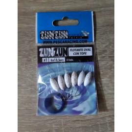 Perlas Flotantes Zun Zun - BLANCA PURPURINA