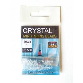Micro Perlas Cristal - MINI Ø 1mm Ext.