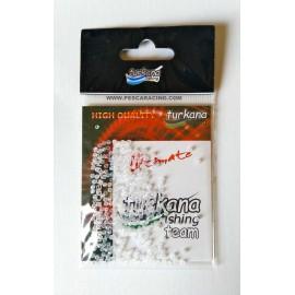 Micro Perlas Turkana - TRANSPARENTES 300 Und.
