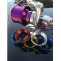Casquillo / Araña Aluminio SHIMANO  - XSD/FLIEGEN 1.15