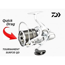 Carrete Surfcasting DAIWA Tournament SURF 35 QD - Novedad 2018