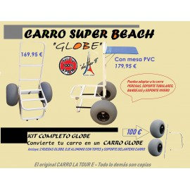 Carro de Pesca La Toure - Super Beach GLOBE