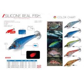 Jibioneras DTD - SILICONE REAL FISH