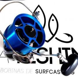 Bobinas Aluminio SEA FISHING Alta Competición - AZUL