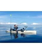 Cañas pesca Kayak